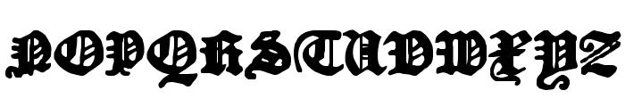 DKCourant Font UPPERCASE