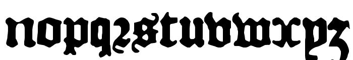 DKCourant Font LOWERCASE