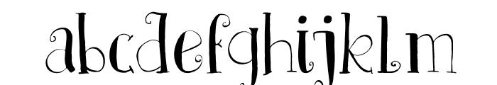 DKFatherFrost Font LOWERCASE
