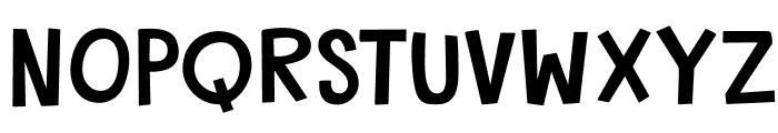 DKGardenGnome Font UPPERCASE