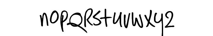 DKHastyTasty Font LOWERCASE