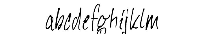 DKHeyComrade Font LOWERCASE