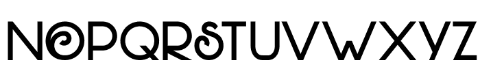 DKHofstad Font UPPERCASE