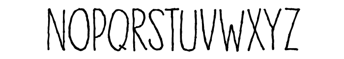 DKHoneyDew Font UPPERCASE