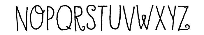 DKHoneyDew Font LOWERCASE