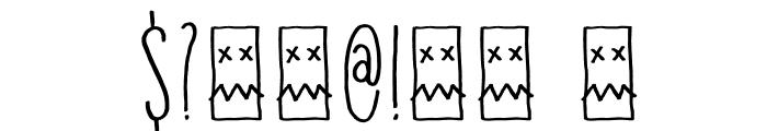 DKInsomniac Font OTHER CHARS