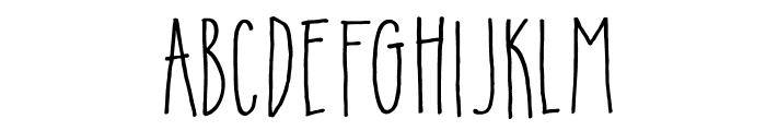 DKInsomniac Font LOWERCASE
