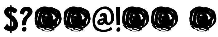 DKJalebi Font OTHER CHARS