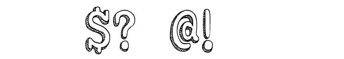 DKKoerier Font OTHER CHARS