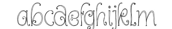 DKKundalini Font LOWERCASE