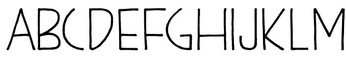 DKKunstschau Font UPPERCASE