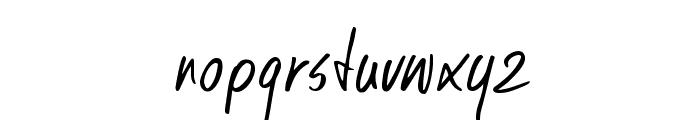 DKKusukusu Font LOWERCASE