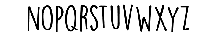 DKLemonYellowSun Font LOWERCASE