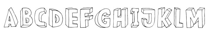 DKMeshuggeneh Font LOWERCASE