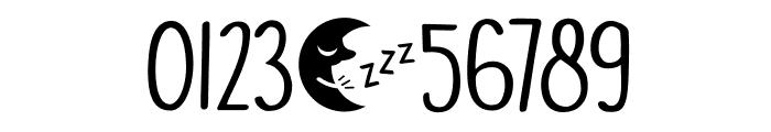 DKMoonlightSerenade Font OTHER CHARS