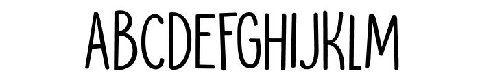 DKMoonlightSerenade Font UPPERCASE