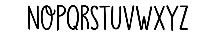 DKMoonlightSerenade Font LOWERCASE