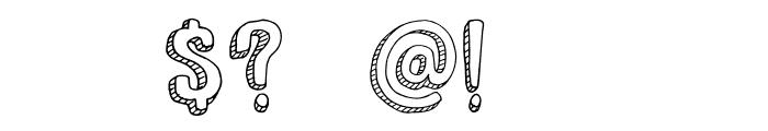 DKNanuk Font OTHER CHARS