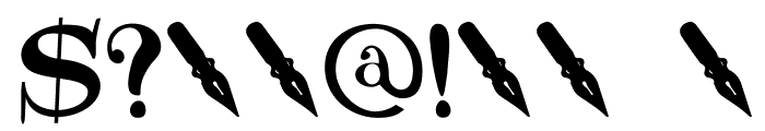 DKNotaris Font OTHER CHARS