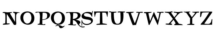 DKNotaris Font LOWERCASE
