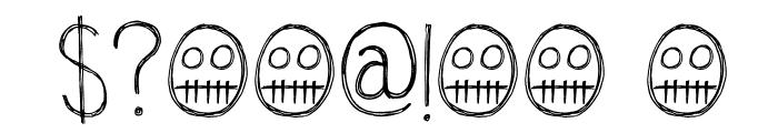 DKOkiku Font OTHER CHARS