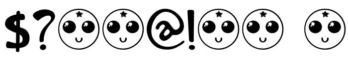 DKOrenji Font OTHER CHARS