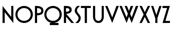 DKOtago Font UPPERCASE