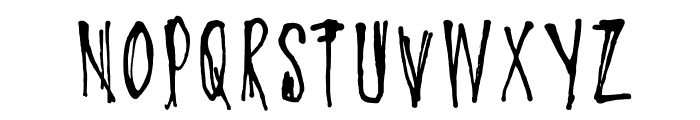 DKOyukisGhost Font UPPERCASE