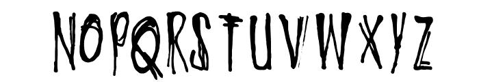 DKOyukisGhost Font LOWERCASE