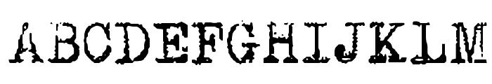 DKP.I. Font UPPERCASE
