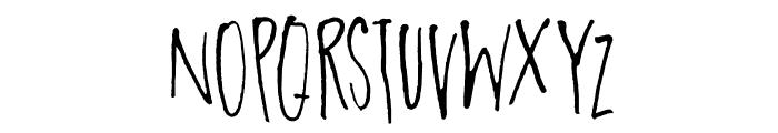 DKParadiseLost Font UPPERCASE