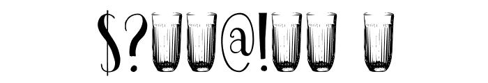 DKPastis Font OTHER CHARS