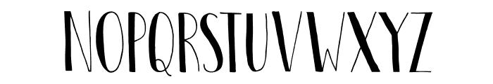 DKPastis Font UPPERCASE