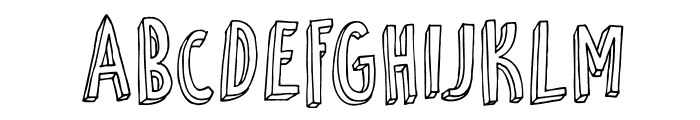 DKPetitFour Font LOWERCASE
