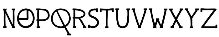 DKPingo Font UPPERCASE