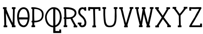 DKPingo Font LOWERCASE