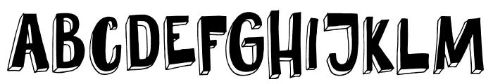 DKPundak Font UPPERCASE