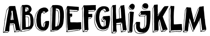 DKPundak Font LOWERCASE