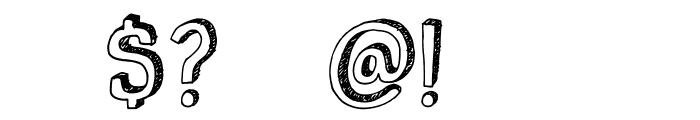 DKPusekatt Font OTHER CHARS