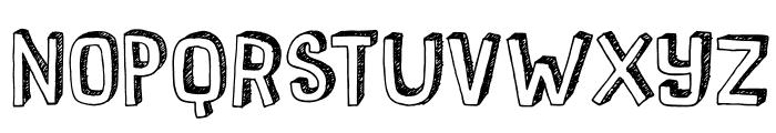 DKPusekatt Font UPPERCASE