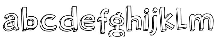 DKRosyLee Font LOWERCASE