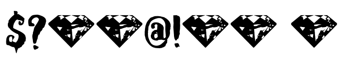 DKRubyRed Font OTHER CHARS