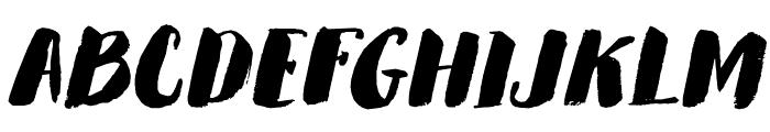 DKSaffronWalden Font UPPERCASE