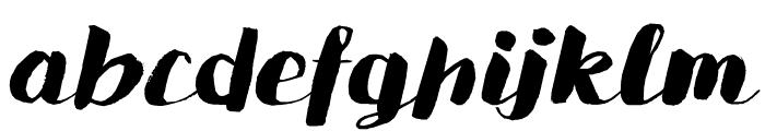 DKSaffronWalden Font LOWERCASE