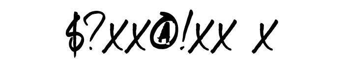 DKSameSameButDifferent Font OTHER CHARS
