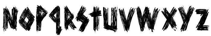 DKScurvyDog Font LOWERCASE