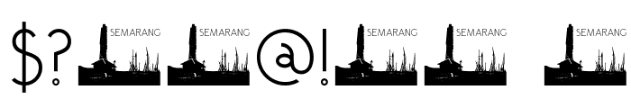 DKSemarang Font OTHER CHARS