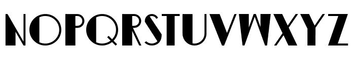 DKSemarangKolonial Font UPPERCASE