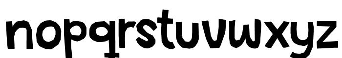 DKSnippitySnap Font LOWERCASE