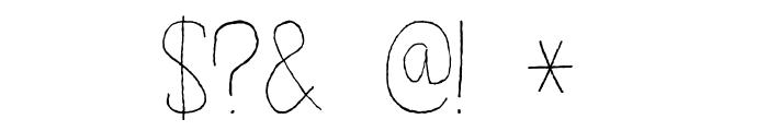 DKSucoDeLaranja Font OTHER CHARS